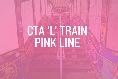 Sightseeing by L Train: Chicago Pink Line