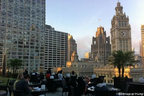 Terrace at Trump