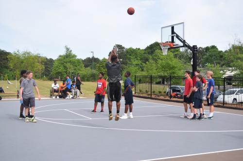 Park at Pernoshal Basketball Court