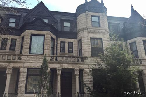 Pearl Hart's former home in Chicago