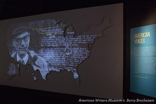 A Nation of Writers Exhibit at American Writers Museum