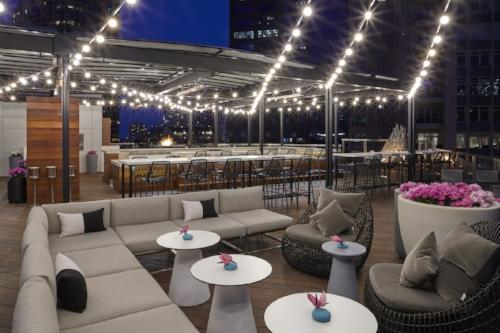 Located On Chicagou0027s Magnificent Mile On Erie Street, The New Conrad Rooftop  Whiskey Bar Made Its Debut In Spring 2017. Noyane Offers Panoramic Skyline  And ...