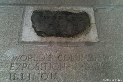 Brick from World's Columbian Exposition in Illinois
