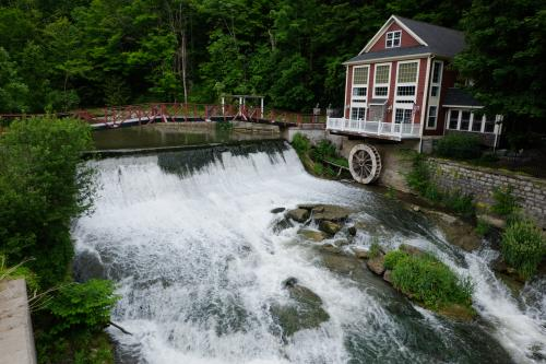 Marcellus Falls and Mill in Upstate New York