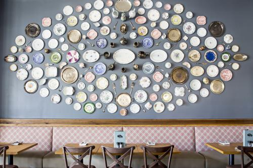 Tupelo Honey Button Wall