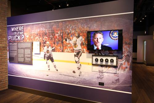 Forensics at the Chicago Sports Museum