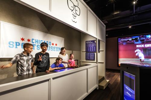 Fan Zone at the Chicago Sports Museum