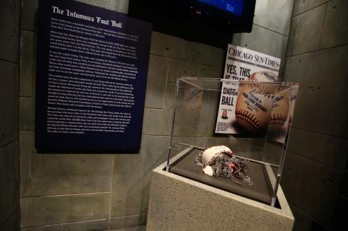 Curses at the Chicago Sports Museum