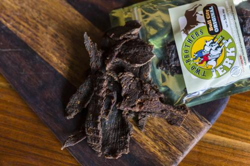 Beef jerky from Two Brothers Jerky in Columbia, SC