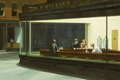Edward Hopper's Nighthawks at Art Institute of Chicago