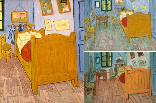 Van Gogh's Bedrooms at The Art Institute of Chicago