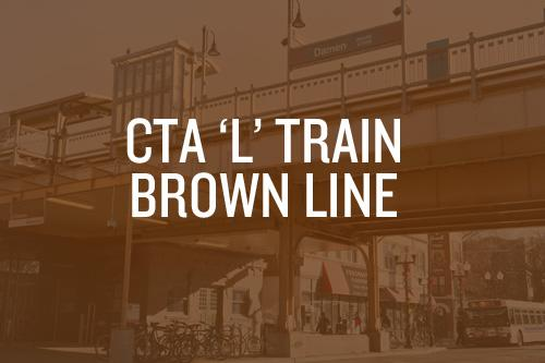 Sightseeing by L Train: Chicago Brown Line