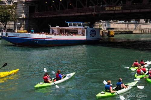 Chicago River Kayaks