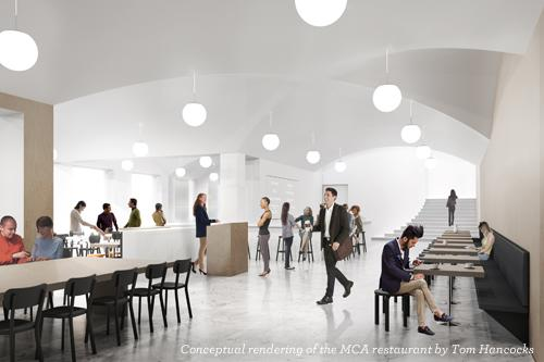 Museum of Contemporary Art Chicago new restaurant rendering