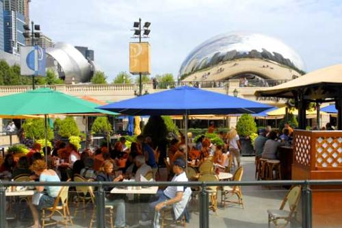 Millennium Park Dining in Chicago's Park Grill