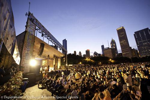 Crowd at Chicago's Blues Fest