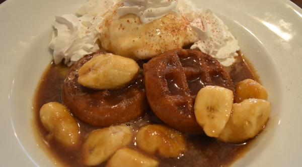 Banana Foster at Champions Bar and Restaurant - Fort Wayne, IN