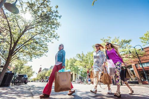Spring Shopping in Downtown Traverse City