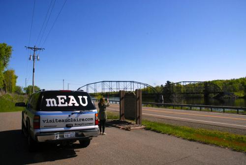 Cobban Bridge and mEAU - Timber Trails Audio Tour