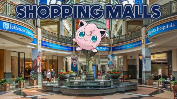 Pokemon - Shopping Malls