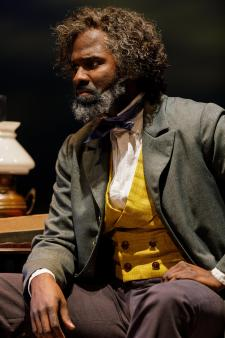 Cedric Mays in Agitators at Geva Theatre Center