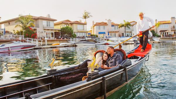 A sunset Gondola Ride