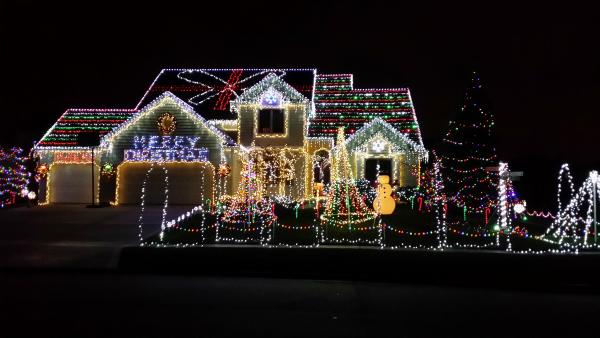Crooked Creek Christmas Lights Display - Fort Wayne, IN