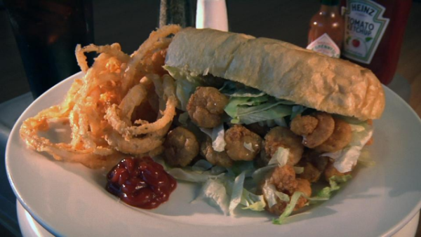 Pitt Grill Poboy | Lake Charles, Louisiana