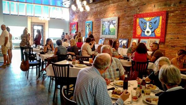 Blue Dog Cafe Art | Lake Charles