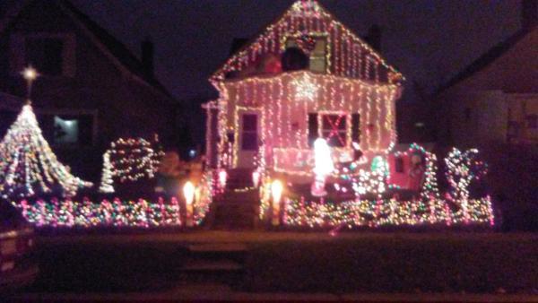 Best Christmas Lights Display - 1144 Wabash Avenue