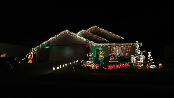 Best Christmas Lights Display - Rosalind Court
