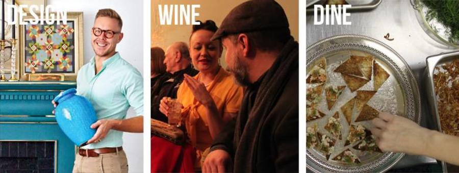 Design, Wine and Dine