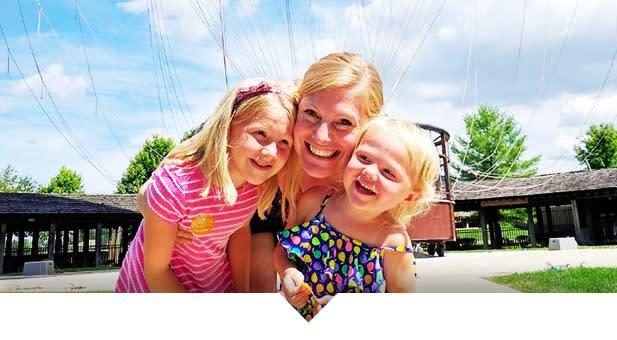 Conner Prairie Balloon Girls