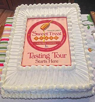 Sweet Treat Trail cake