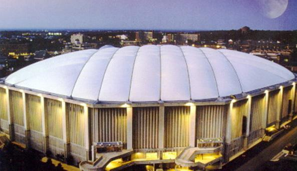 carrier dome. carrier dome at syracuse university