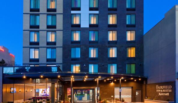 Fairfield Inn & Suites, Queensboro, exterior