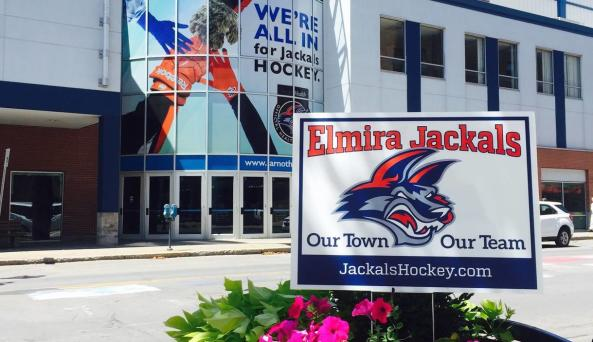 First Arena in Downtown Elmira