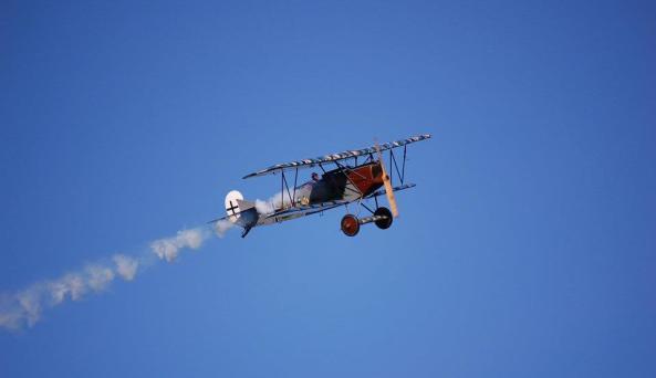 Aerodrome - in flight