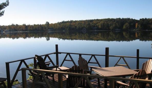 Mariaville Lake B&B Private Dock