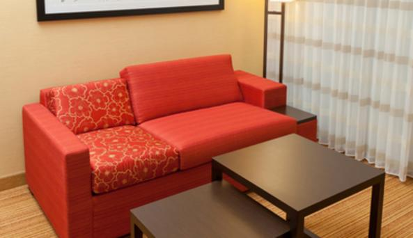 KIng Guest Room Sitting Area