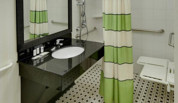 Accessible Bathroom- Roll-in Shower