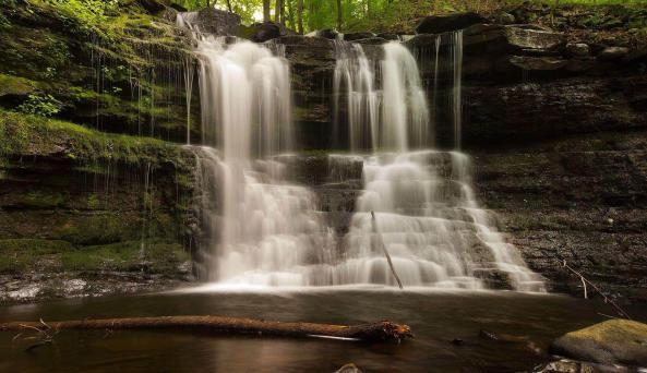 Waterfalls at A TIny House Resort