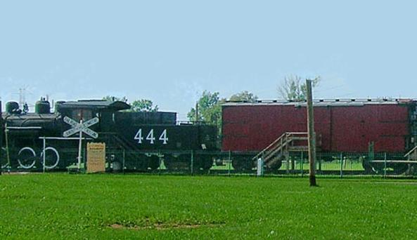 ALCO- Brooks Railroad Display