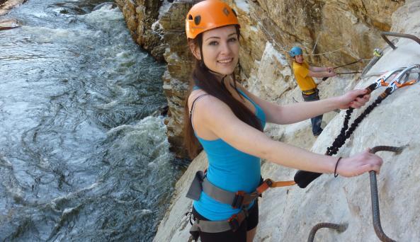 Ausable Chasm Adventure Course