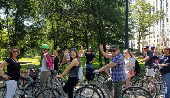 Fun with Central Park Bike Tours
