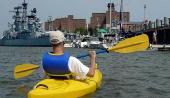 BFLO Harbor Kayak