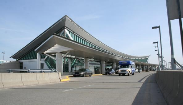 Buffalo Niagara International Airport West View