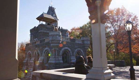 Belvedere Castle - Photo by Marley White - Courtesy by NYC & Co