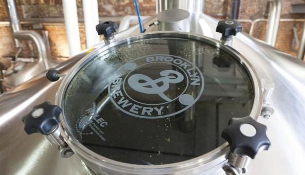 Brooklyn Brewery _ Photo by Marley White - Courtesy of NYC & CO