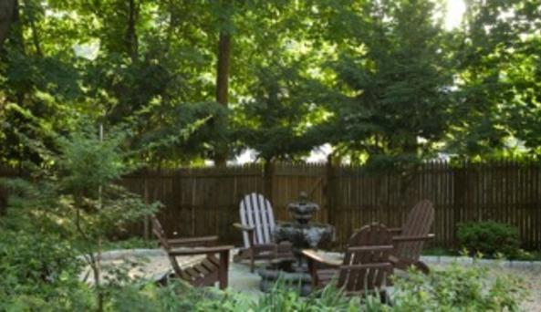 The Croff House - garden